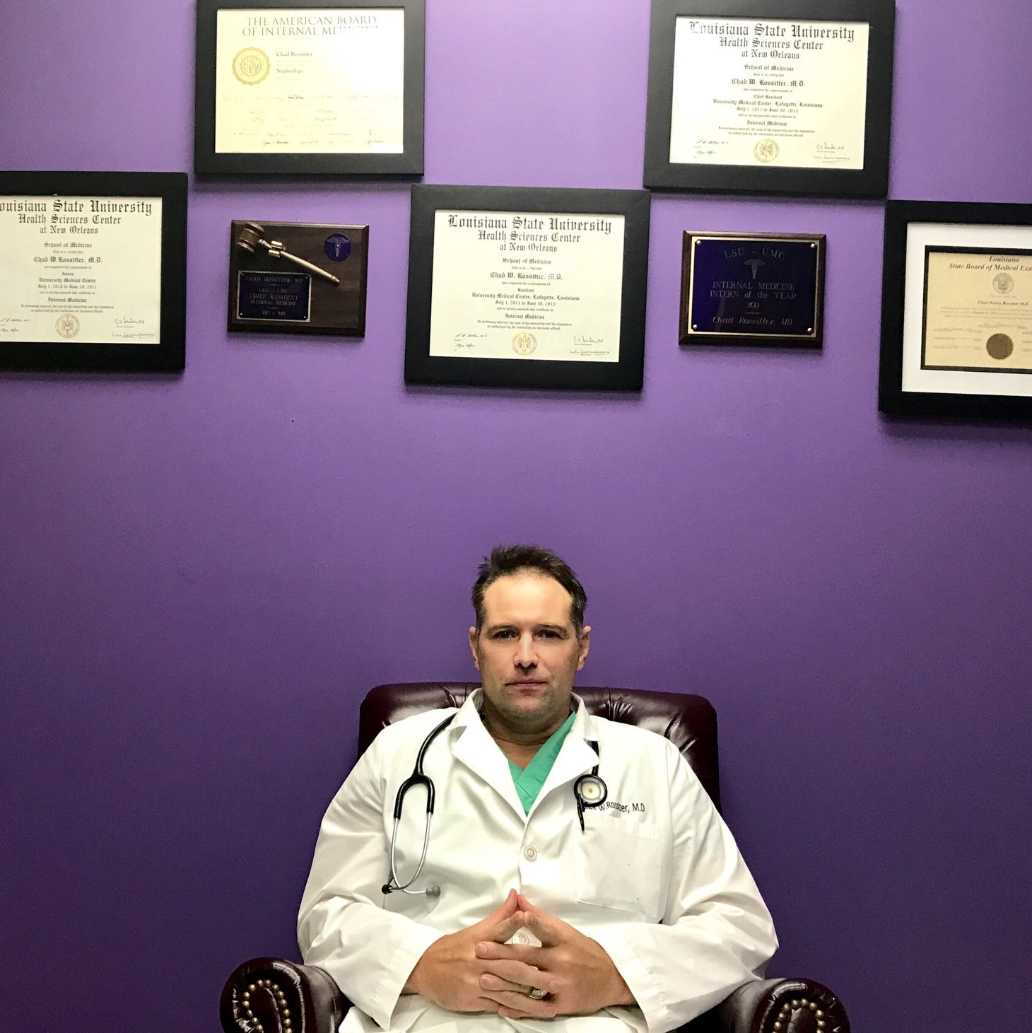 Dr. Chad Wesley Rossitter M.D.