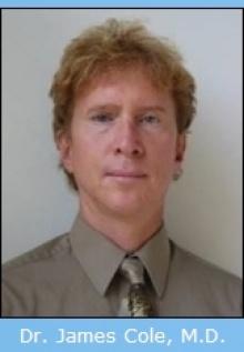Dr. James C Cole  M.D.
