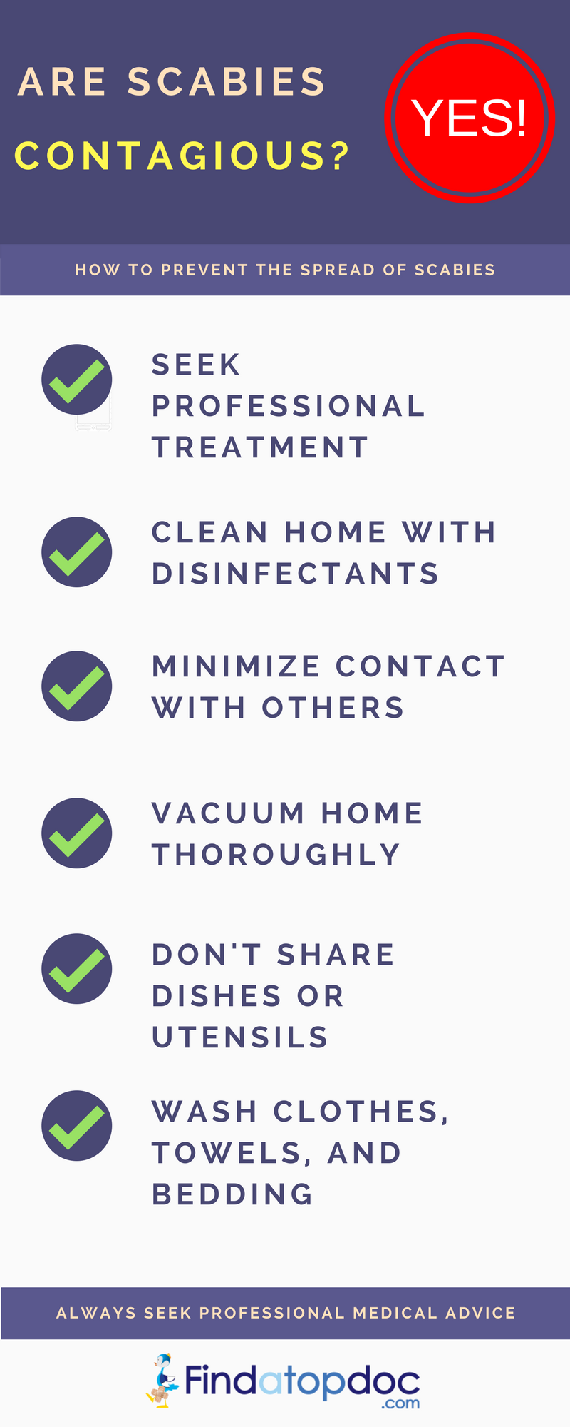 how to stop scabies at home