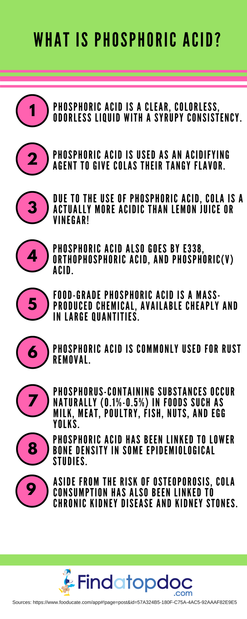Phosphoric acid: properties and harm of the food additive E338 83